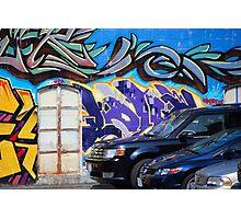 #10 Graffito Photographic Print