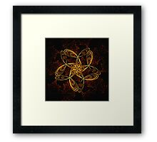 ©DA FS Yellow And Red FX2D. Framed Print