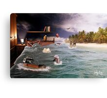 And whilst I was sleeping..... Canvas Print