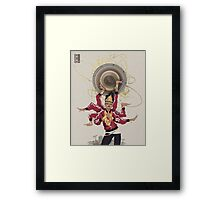 Queen Tut Framed Print