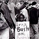 Bush Not Bombs by elisabeth tainsh