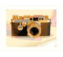 Leica Camera old thula-art Art Print