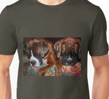 Sleeping Beauties -Boxer Dogs Series- Unisex T-Shirt