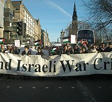 End Israeli War Crimes by elisabeth tainsh