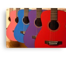 Flamenco guitars Canvas Print