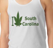 0238 I Love South Carolina Tank Top