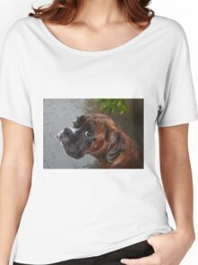 Luthien -Boxer Dogs Series- Women's Relaxed Fit T-Shirt