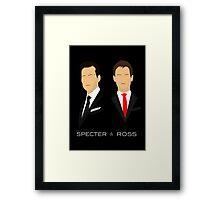 Suits - Harvey Specter, Mike Ross Framed Print
