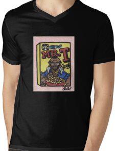 Mr. T Cereal Mens V-Neck T-Shirt
