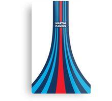 Martini Racing Stripes Metal Print