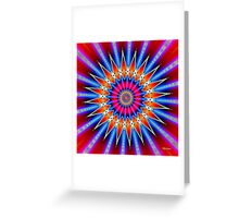'Fusion' Greeting Card