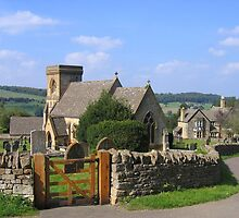 St. Barnabas Church,  Snowshill, Gloucestershire, England by hjaynefoster