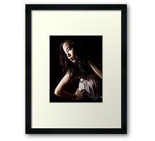 Zoe Framed Print
