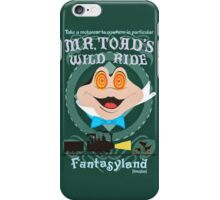 Mr. Toad's Wild Ride Poster iPhone Case/Skin