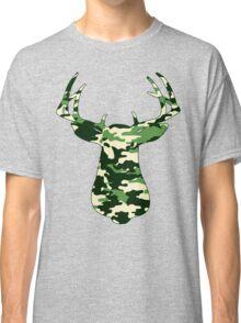 Camo Buck - Hunting T-shirt Classic T-Shirt