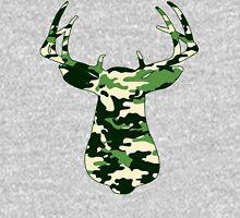 Camo Buck - Hunting T-shirt Hoodie