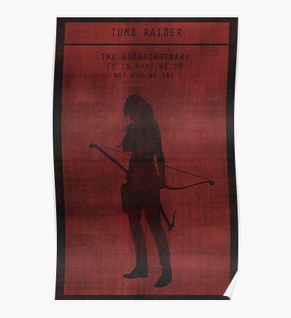 Tomb Raider Gaming Poster Poster