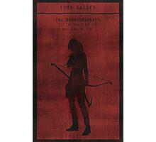 Tomb Raider Gaming Poster Photographic Print