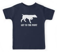 Get to the Point Kids Tee