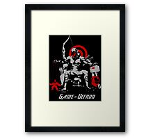 Game of Ultron Framed Print