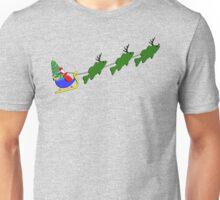 "Santa and his ""Bass Deer"" T-Shirt"