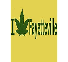 0255 I Love Fayetteville  Photographic Print