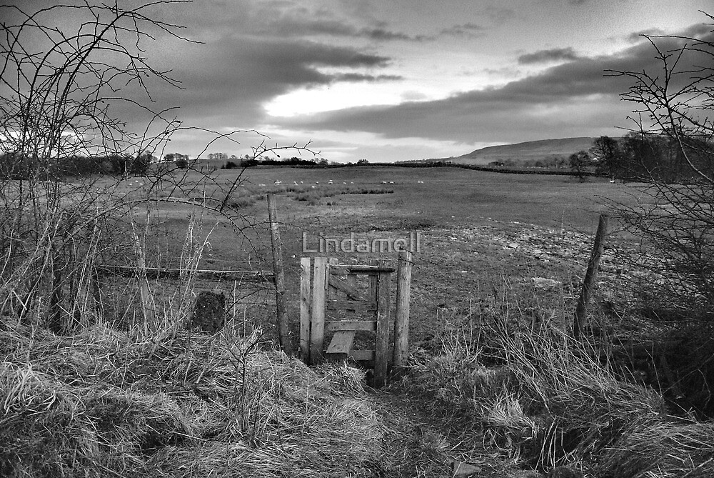 The Stile  by Lindamell