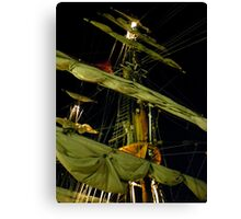 Know The Ropes Canvas Print