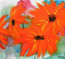 Tropic Flowers by BenPotter