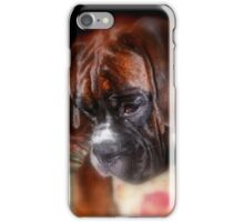 I'm Sorry  -Boxer Dogs Series- iPhone Case/Skin