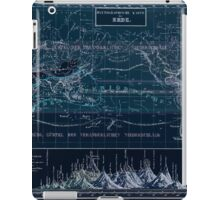 Atlas zu Alex V Humbolt's Cosmos 1851 0160 Histographic Map of the Earth Inverted iPad Case/Skin