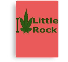 0264 I Love Little Rock Canvas Print