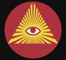 All Seeing Eye, Illuminati Baby Tee