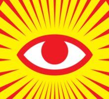 All Seeing Eye, Illuminati Sticker