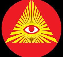 All Seeing Eye, Illuminati by monsterplanet