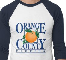 ORANGE COUNTY, FLORIDA Men's Baseball ¾ T-Shirt