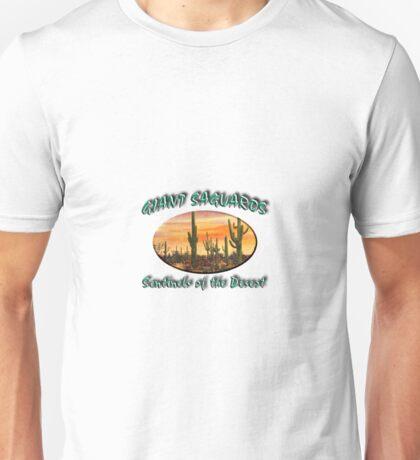 Giant Saguaros Unisex T-Shirt