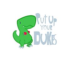 Put Up Your Dukes! Photographic Print