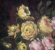 Yellow Roses For A Blue Lady by Judith Allison