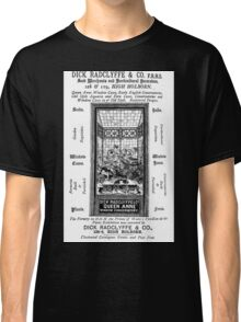 Amateur Theatricals by Walter Herries & Juliet Creed Pollock illus Kate Greenaway 1879 0095 Dick Radclyffe Advertizement Classic T-Shirt
