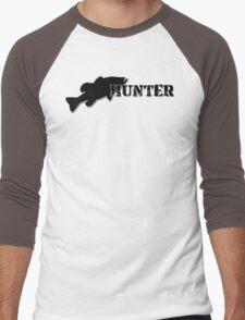 Bass Hunter - Bass fishing t-shirt Men's Baseball ¾ T-Shirt