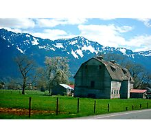 Springtime in the Fraser Valley, British Columbia... Photographic Print