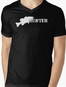 Bass Hunter - Bass fishing t-shirt Mens V-Neck T-Shirt