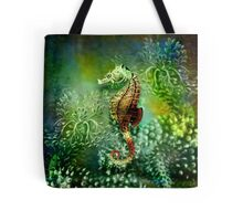 Seahorse Tropical Marine Fishes Tote Bag