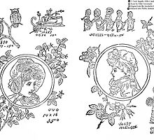 New Sample Book of Our Artistic Perforated Parchment Stamping Patterns Kate Greenaway, John Frederick Ingalls 1886 0076 by wetdryvac