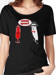 Wanna Spoon - Fishing Tshirt Women's Relaxed Fit T-Shirt