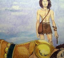 David defeats Goliath of Gath by Demetria  Head