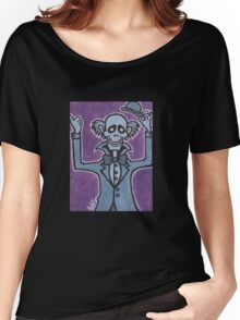 Ezra - Hitchiking Ghost - The Haunted Mansion Women's Relaxed Fit T-Shirt