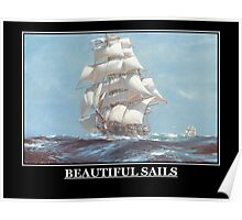 Beautiful Sails Poster