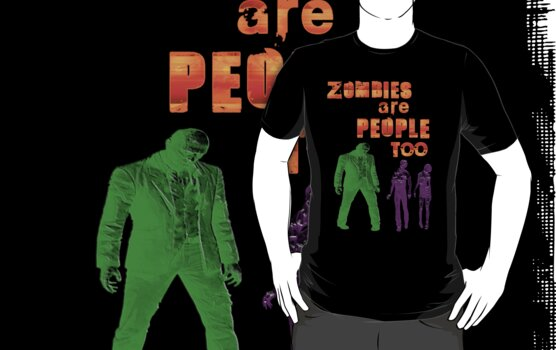 Zombies are people too by rococodreams